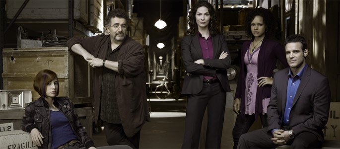 Warehouse 13 cast with hotties